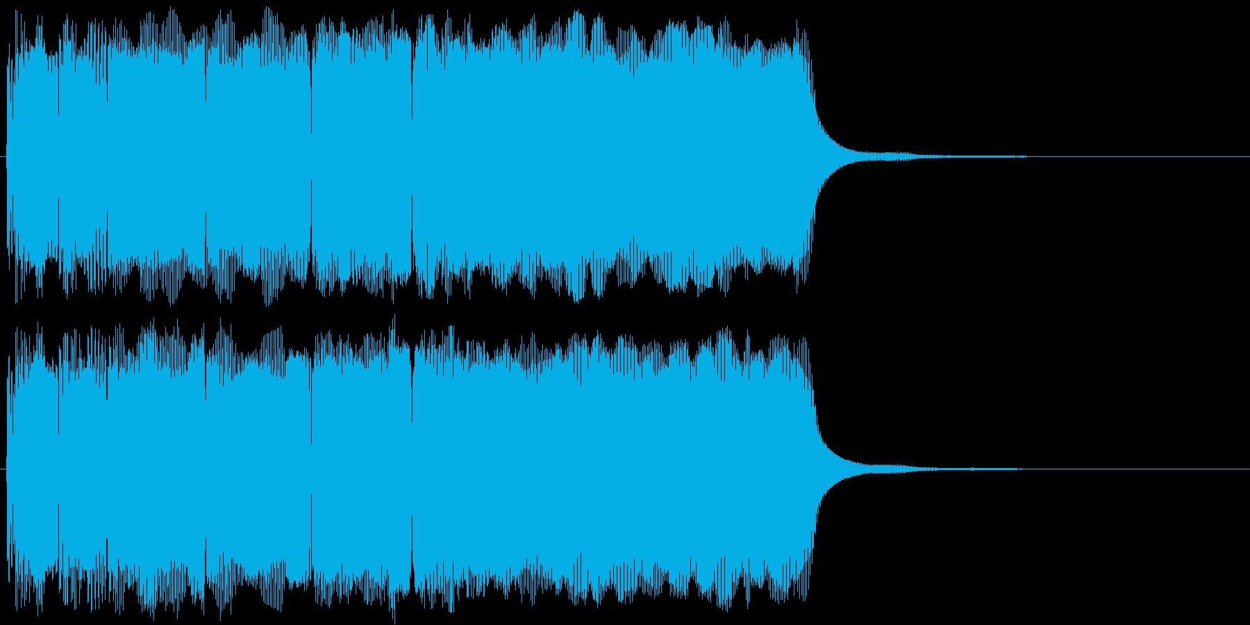 パワーアップ・クリア・正解・チャンスの再生済みの波形