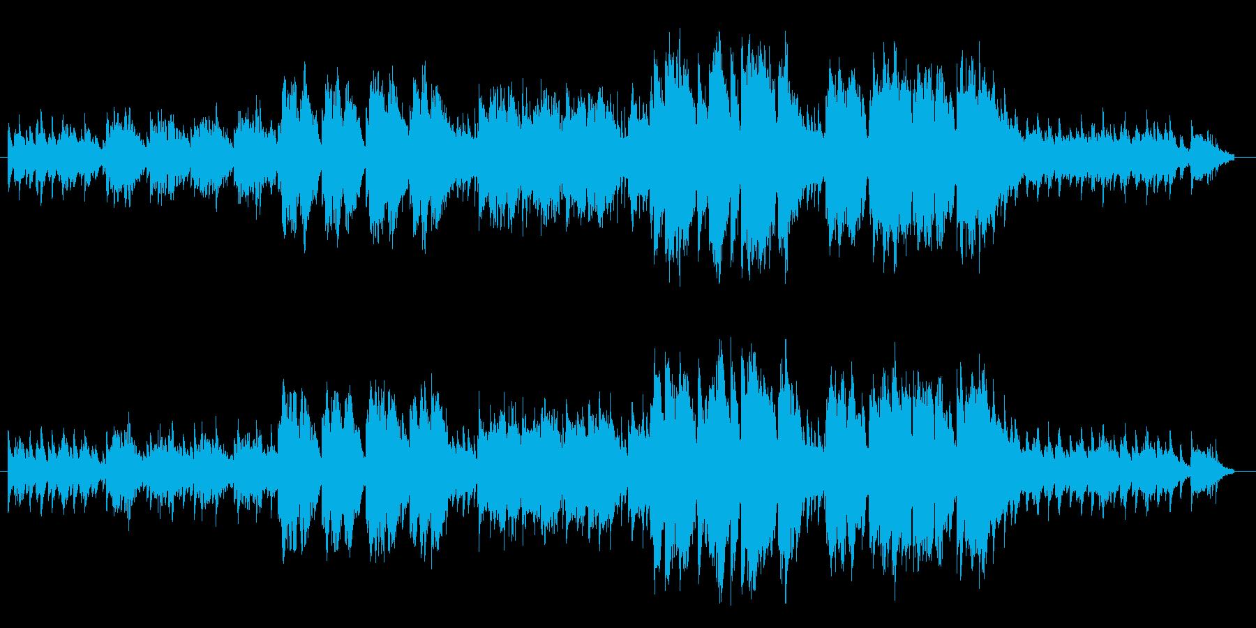 夕暮れ時をイメージして制作いたしました。の再生済みの波形
