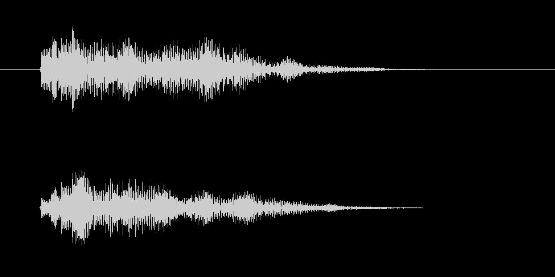 爽やか木琴打楽器音(アニメ、ジングル)の未再生の波形