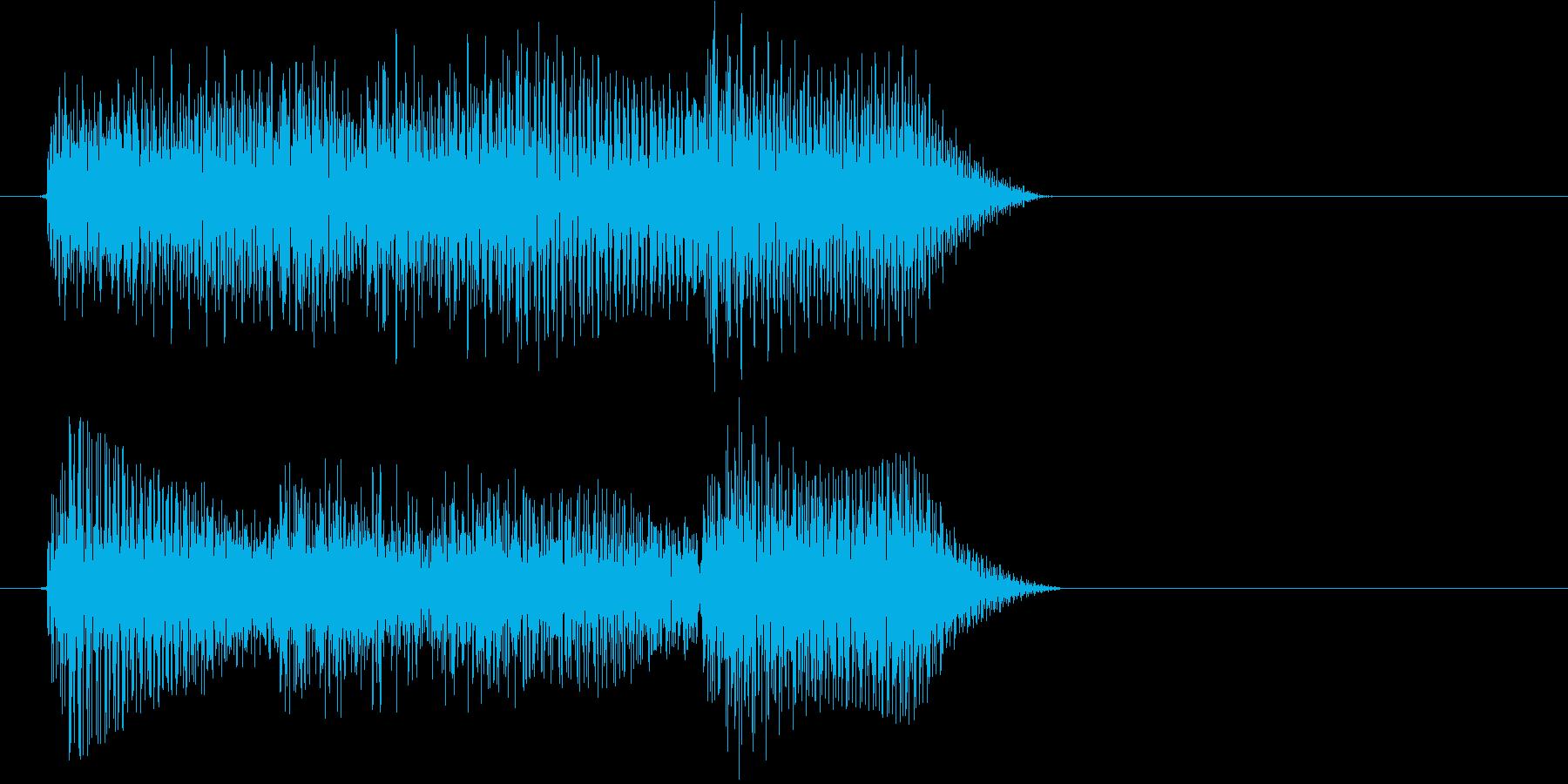 テロリラン(スロットでの確定音)の再生済みの波形