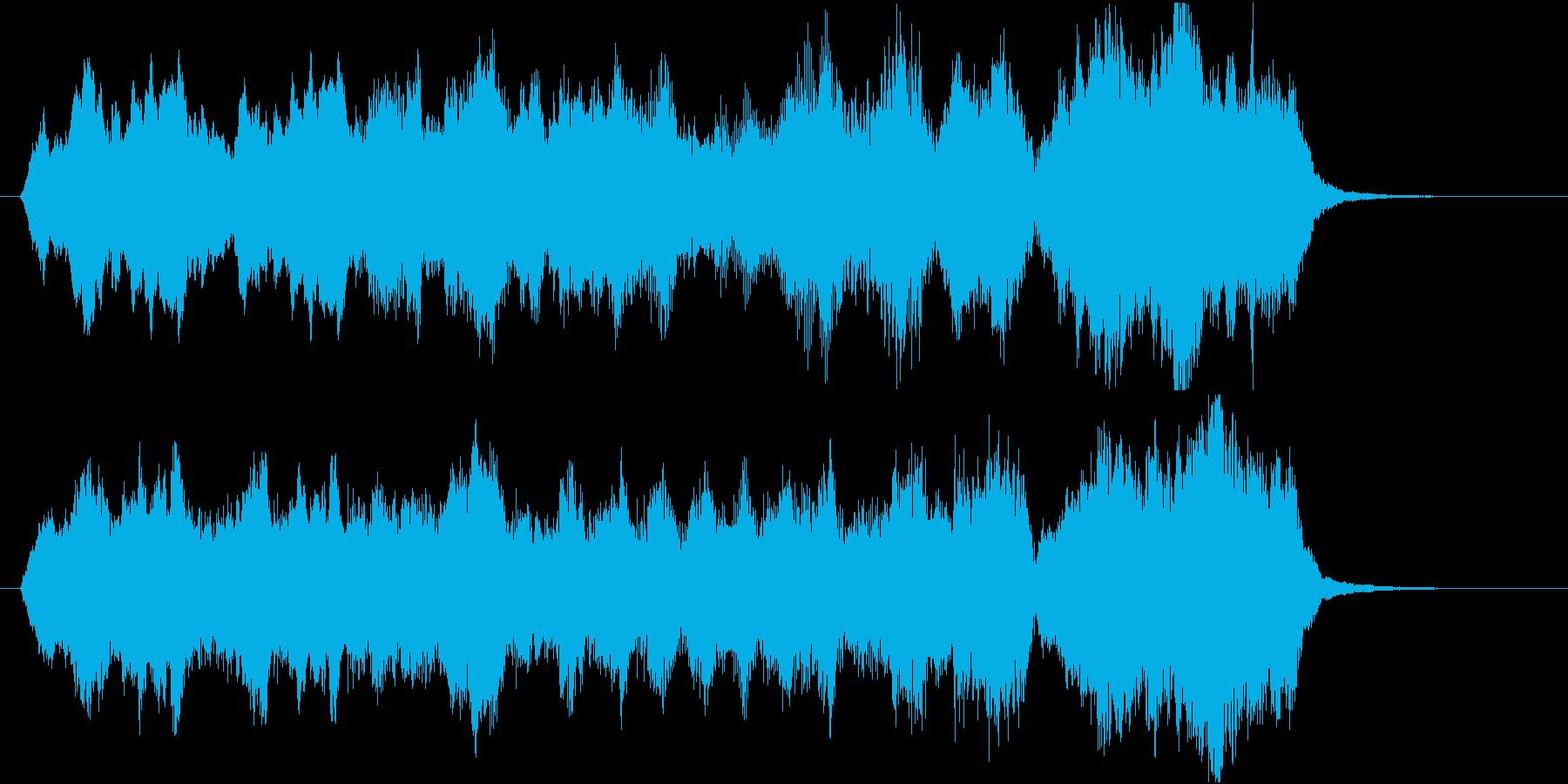 15秒CMサイズの18 心癒す弦楽四重奏の再生済みの波形