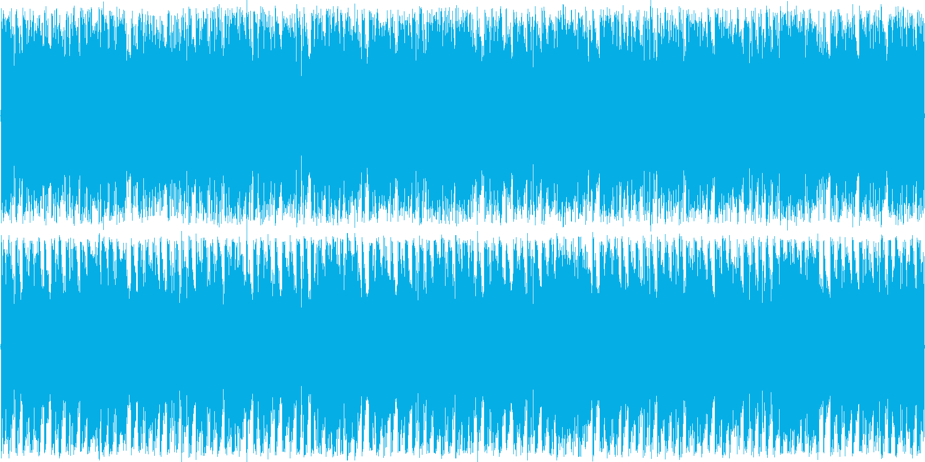 疾走感と緊張感があるロックテイストの楽…の再生済みの波形