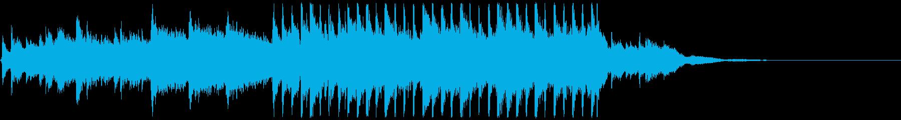 【30秒版】透明感のある切ないアコーステの再生済みの波形