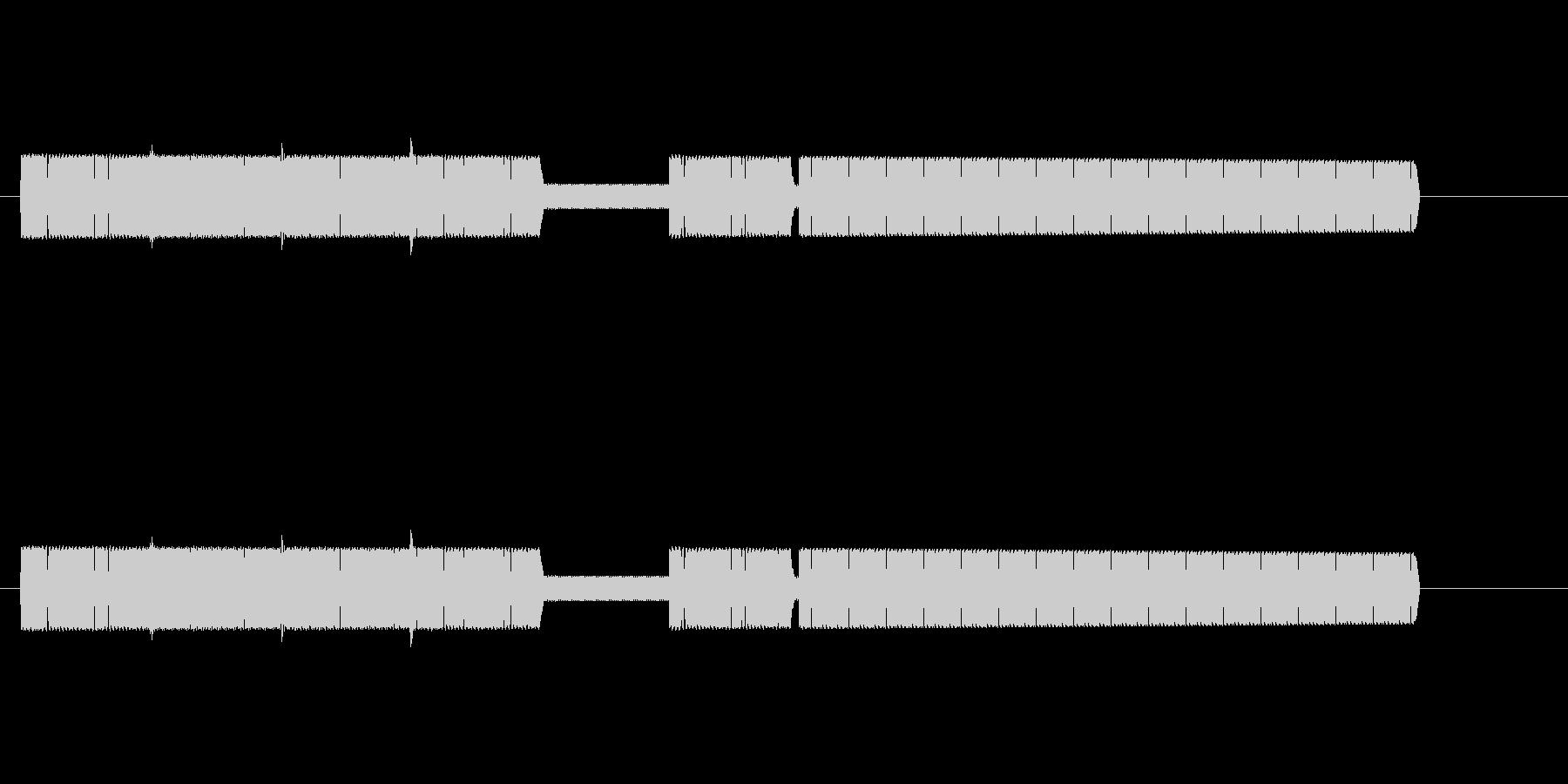 【効果音】8ビットファンファーレ風4の未再生の波形
