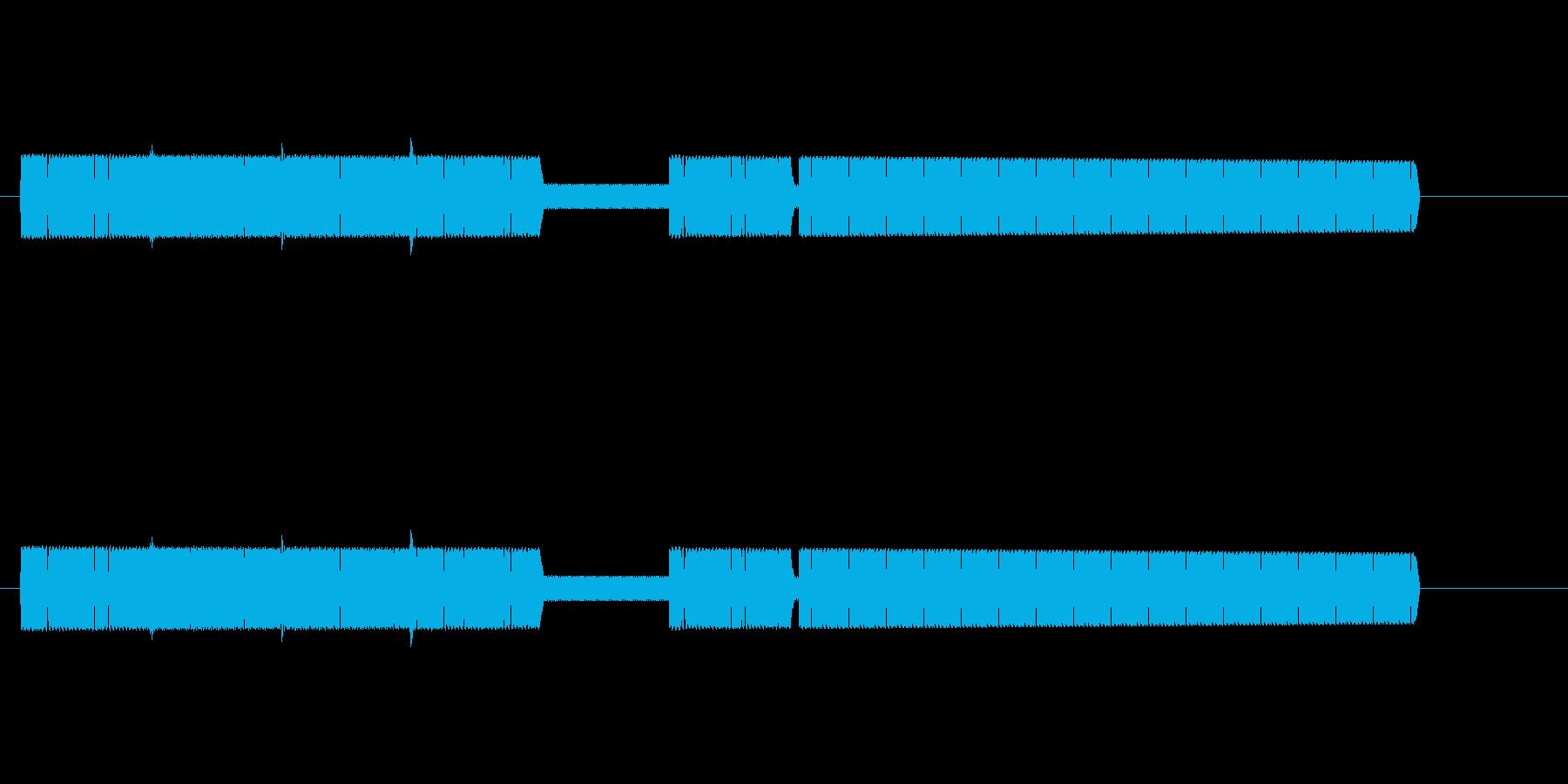 【効果音】8ビットファンファーレ風4の再生済みの波形