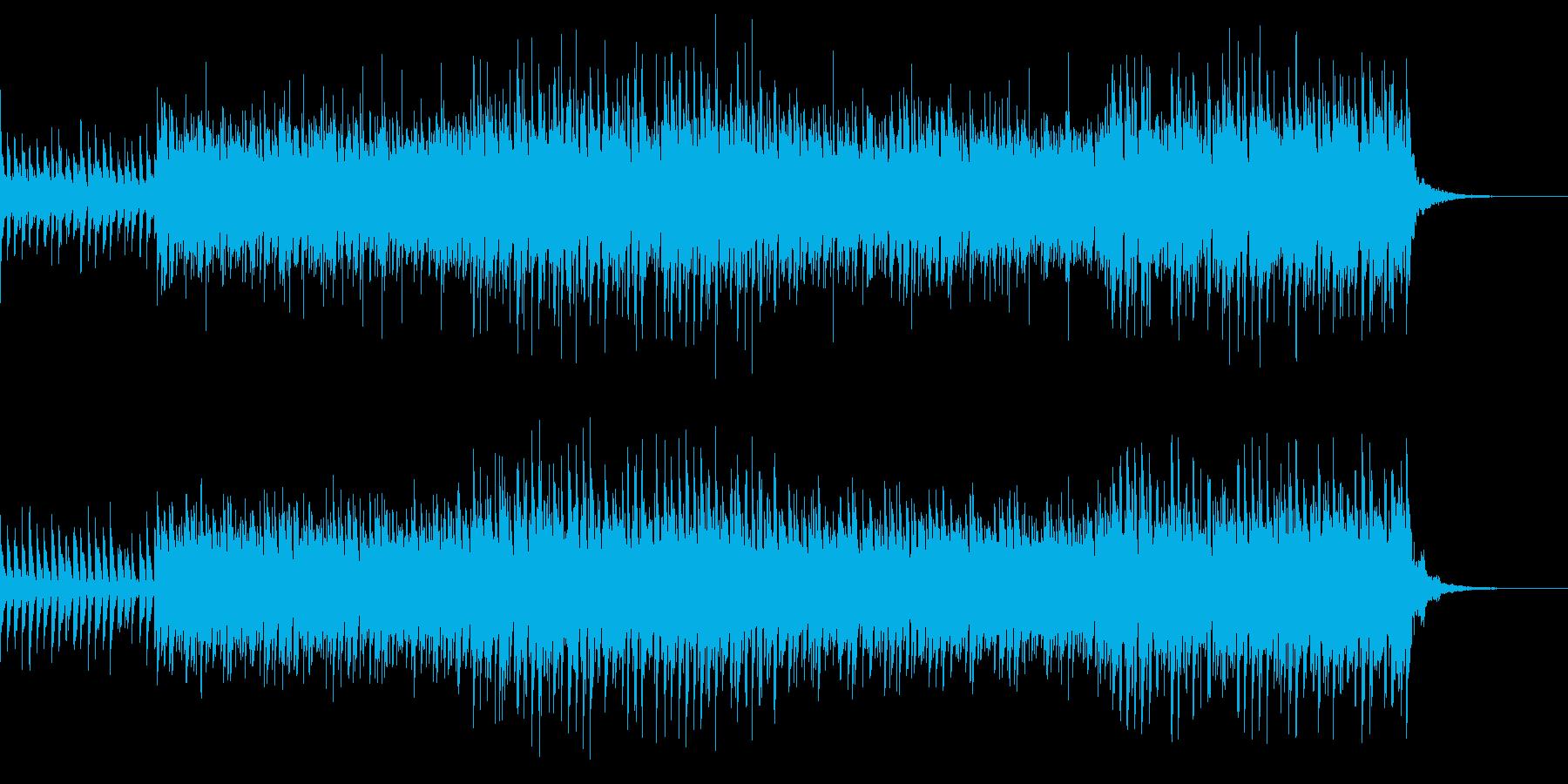 少し困惑したイメージの再生済みの波形