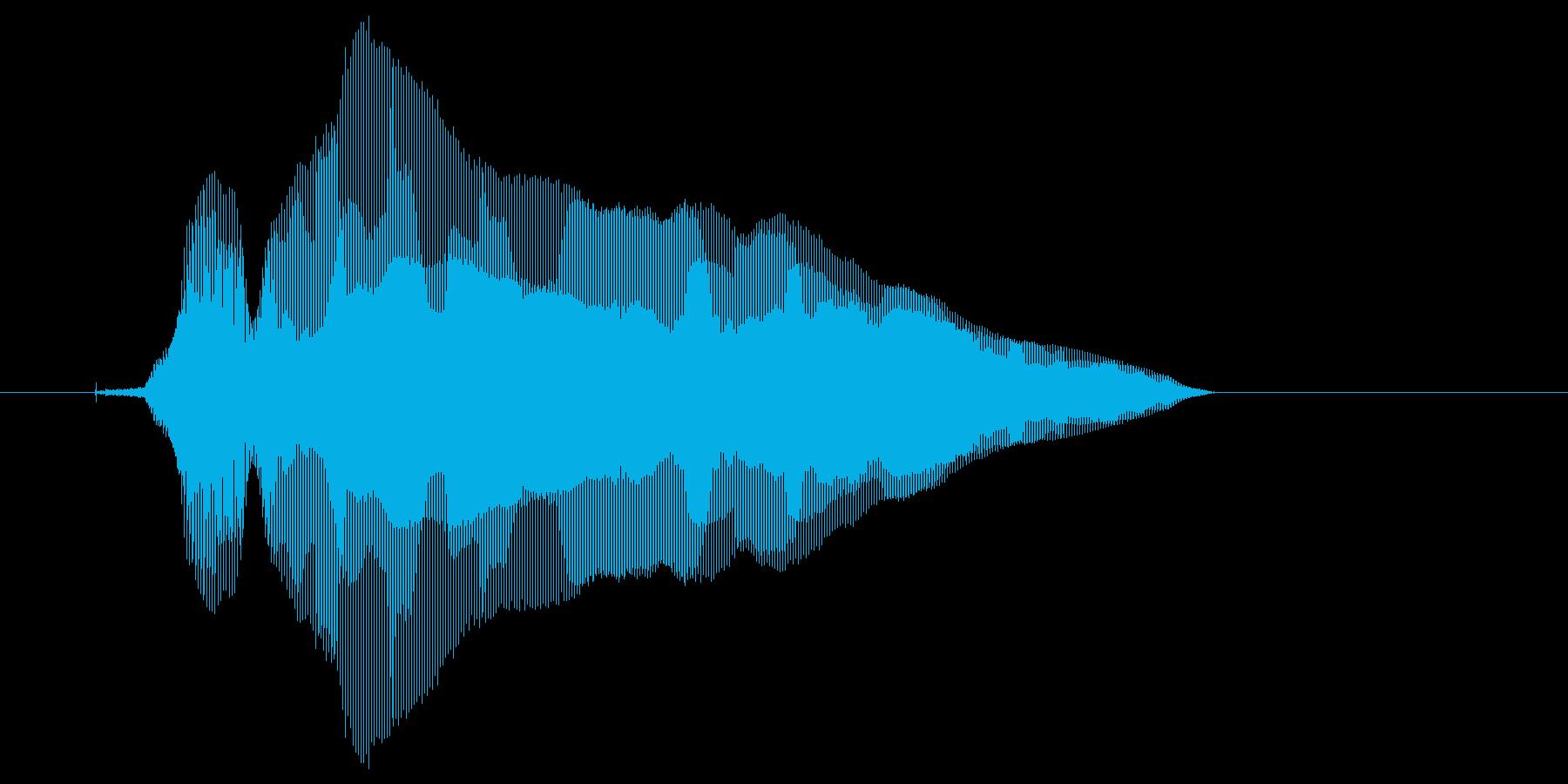 キラーン!の再生済みの波形