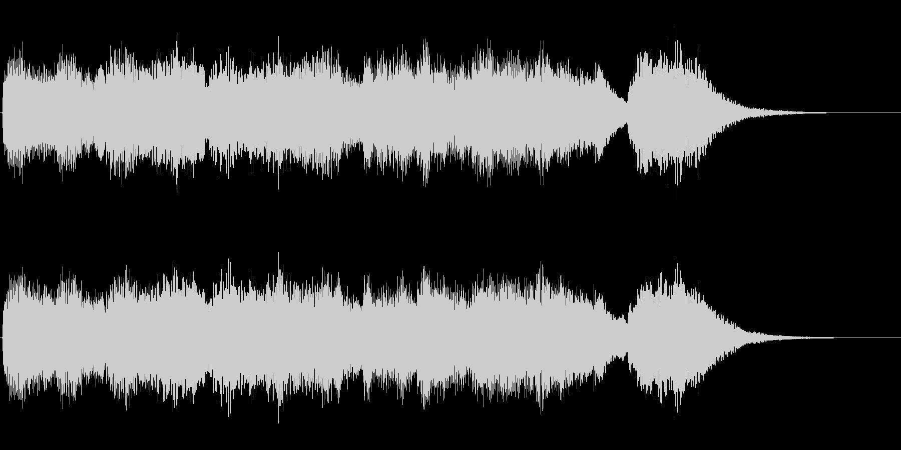 チェンバロ(ハープシコード)のジングルの未再生の波形