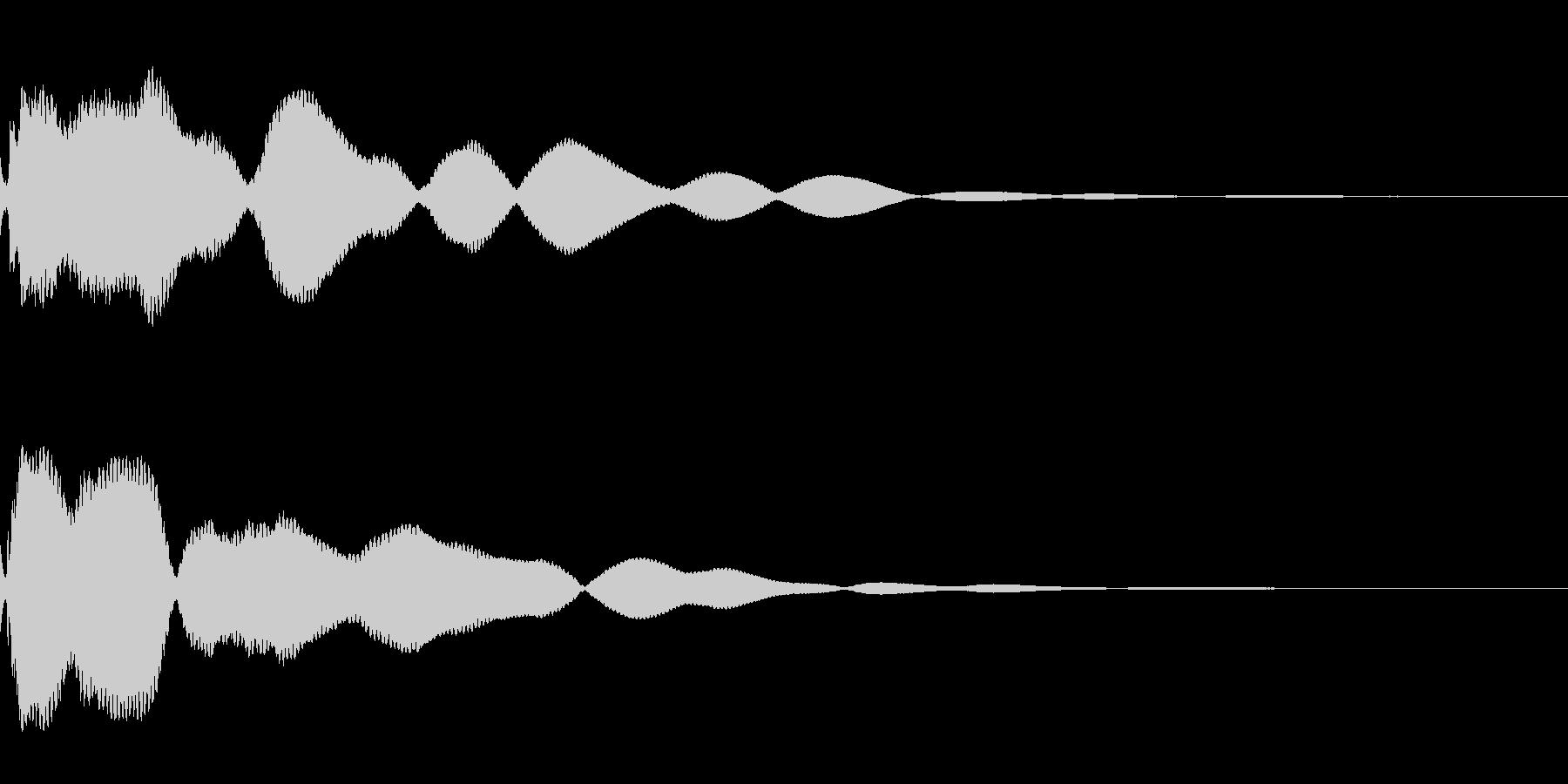 とーーーんの未再生の波形