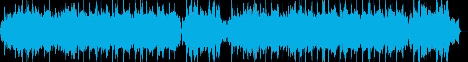 感動的なシーンにぴったりのストリングス曲の再生済みの波形
