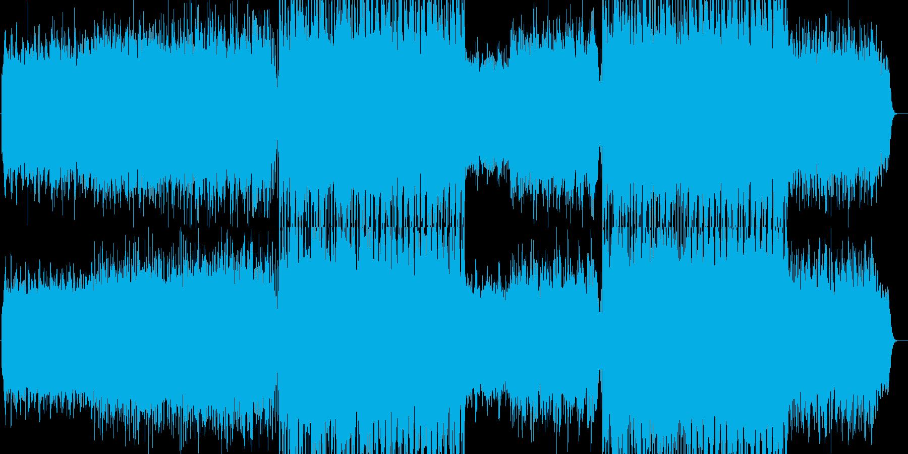 水をイメージした楽曲ですの再生済みの波形