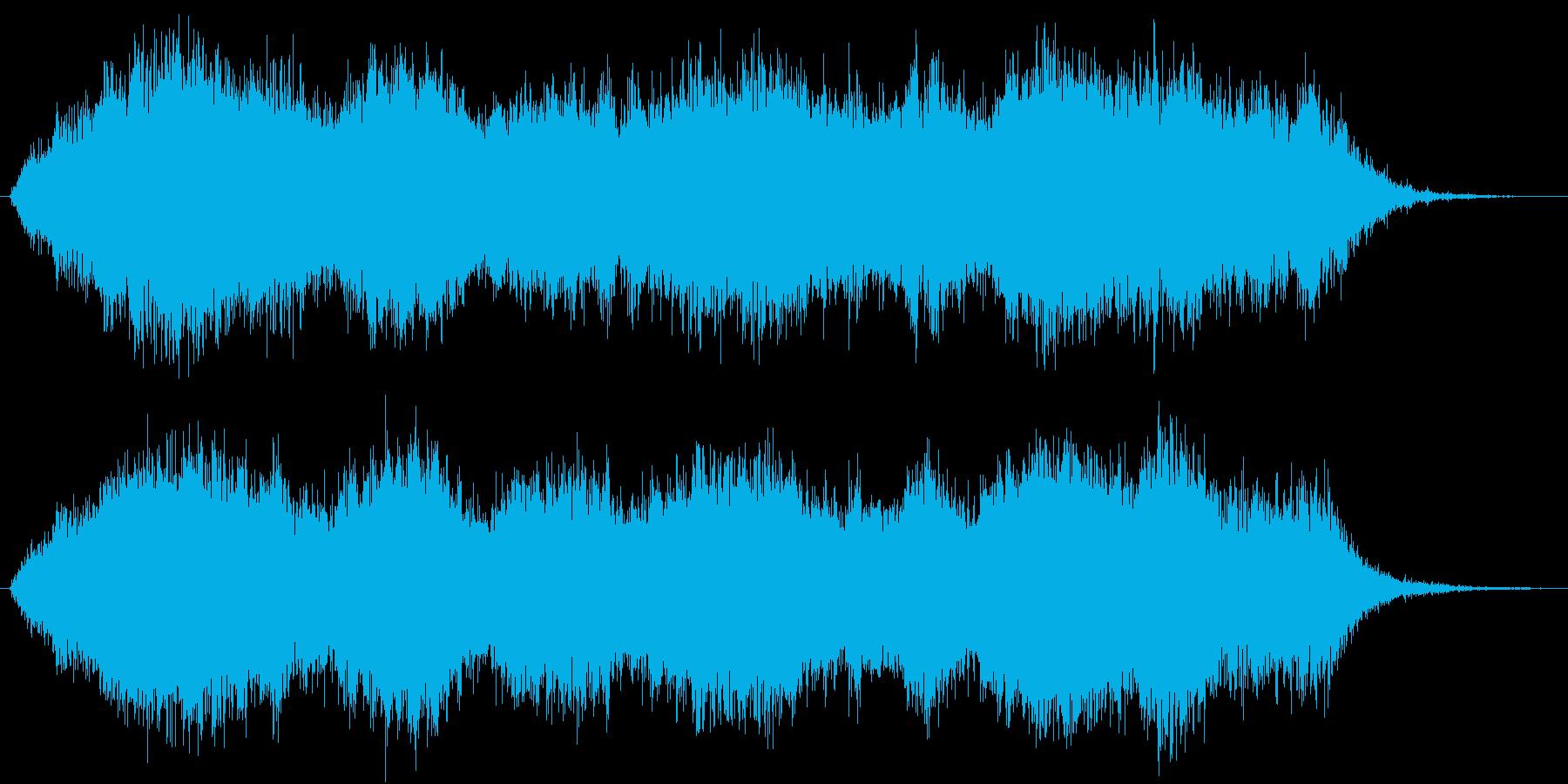 SF系、宇宙に漂っているようなBGMの再生済みの波形