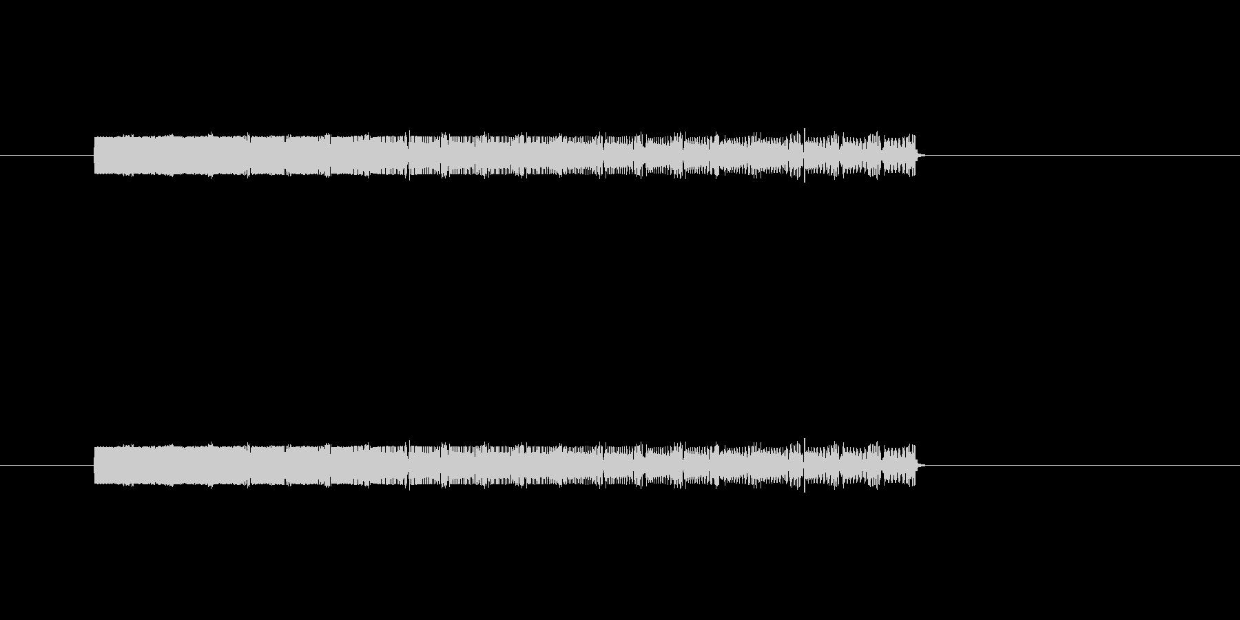 ポップやられの未再生の波形
