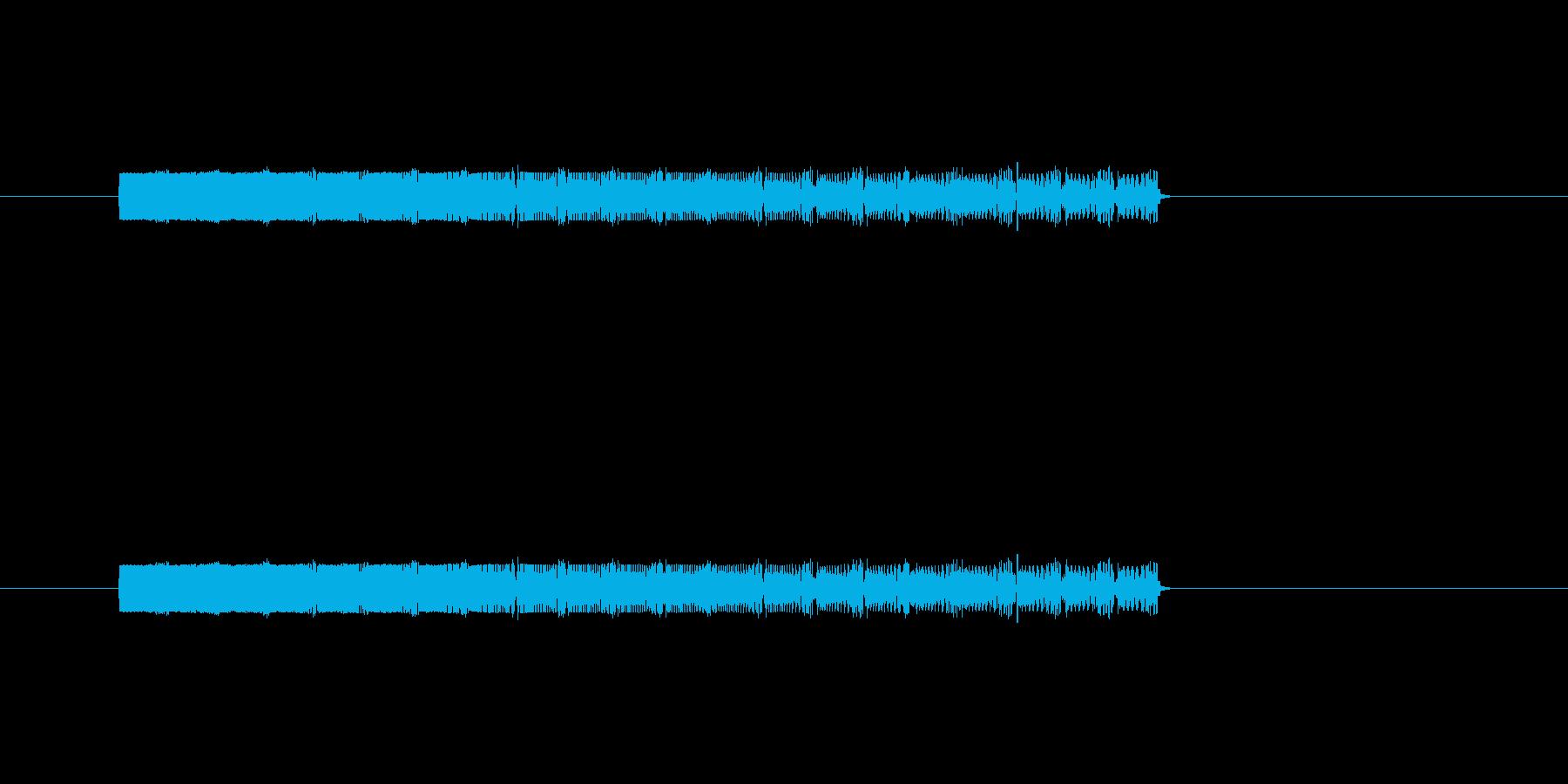 ポップやられの再生済みの波形