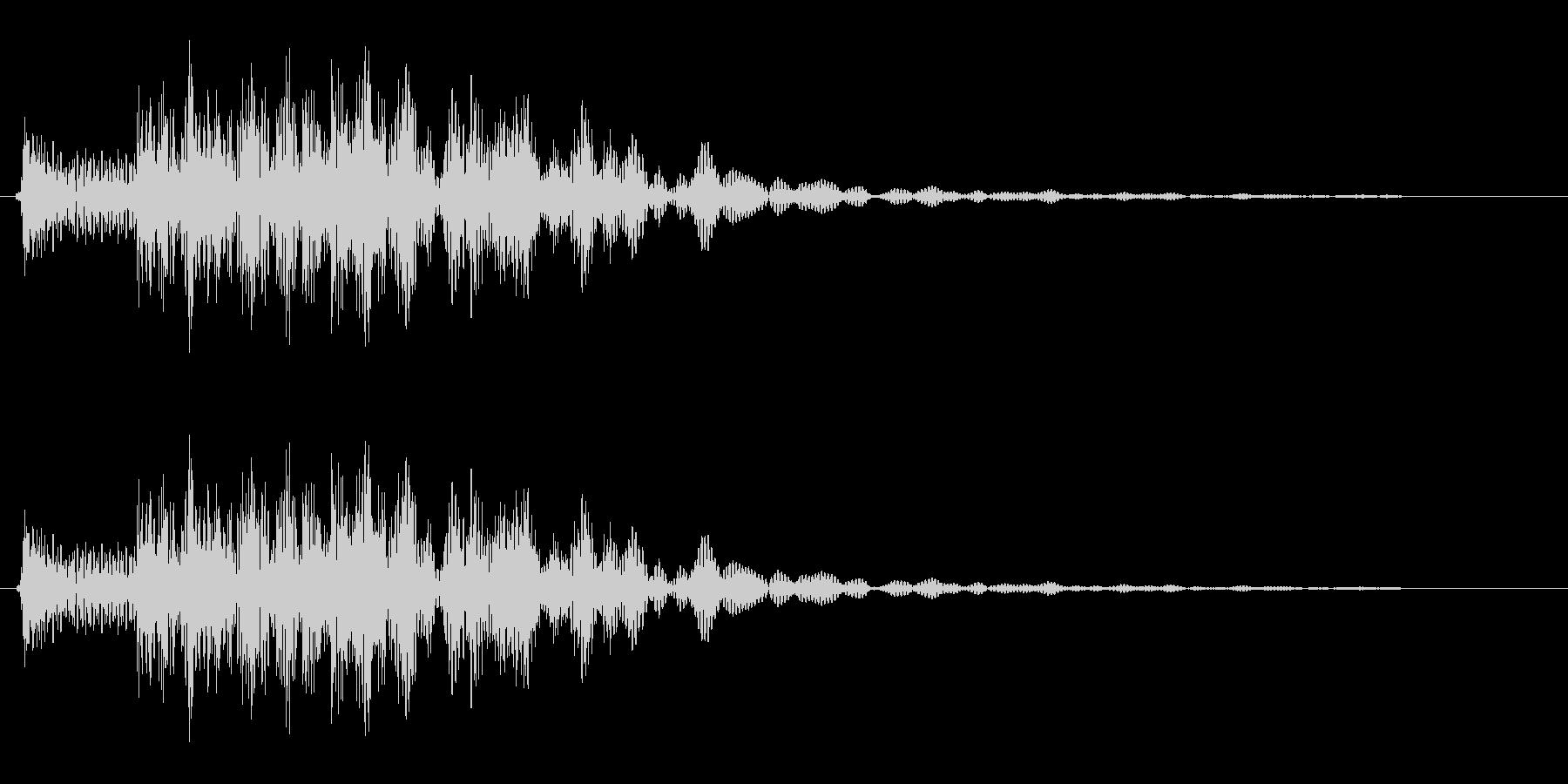 コロチャラン(コミカル)の未再生の波形
