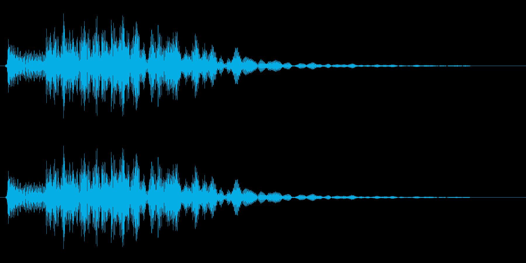 コロチャラン(コミカル)の再生済みの波形