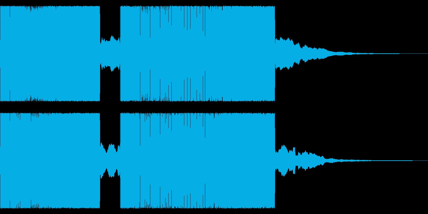 レトロ音なチャラリー トッカータとフーガの再生済みの波形