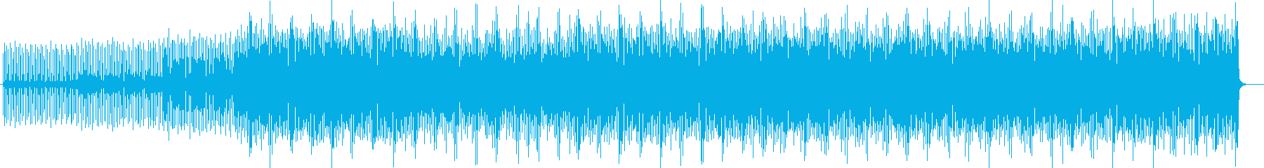 幻想的で森の中のようなポップミュージックの再生済みの波形