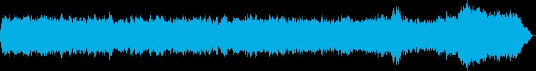 パイプオルガンのオリジナル教会音楽の再生済みの波形