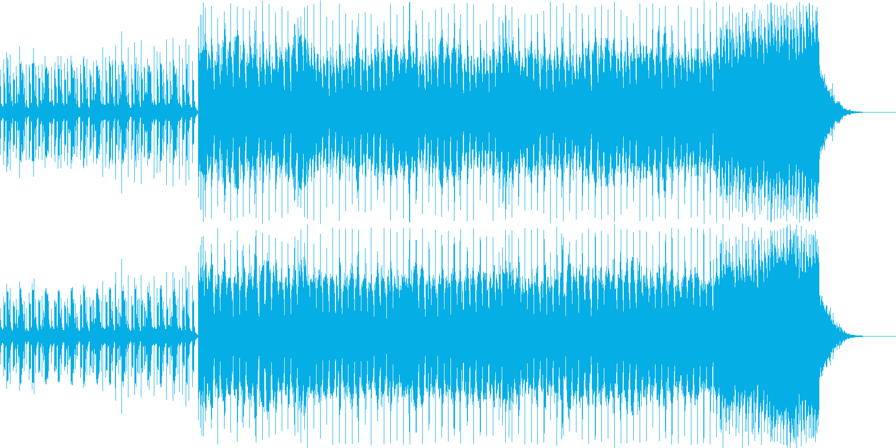 グルーヴィーで腰にくる、ダンサブルなチ…の再生済みの波形
