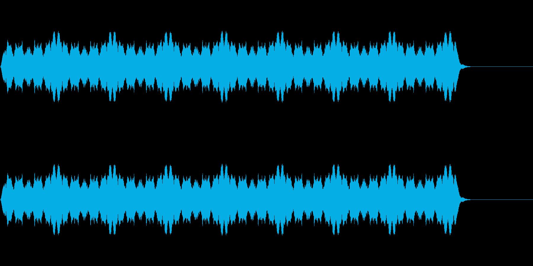 レーザー光線、光などをイメージした擬音…の再生済みの波形