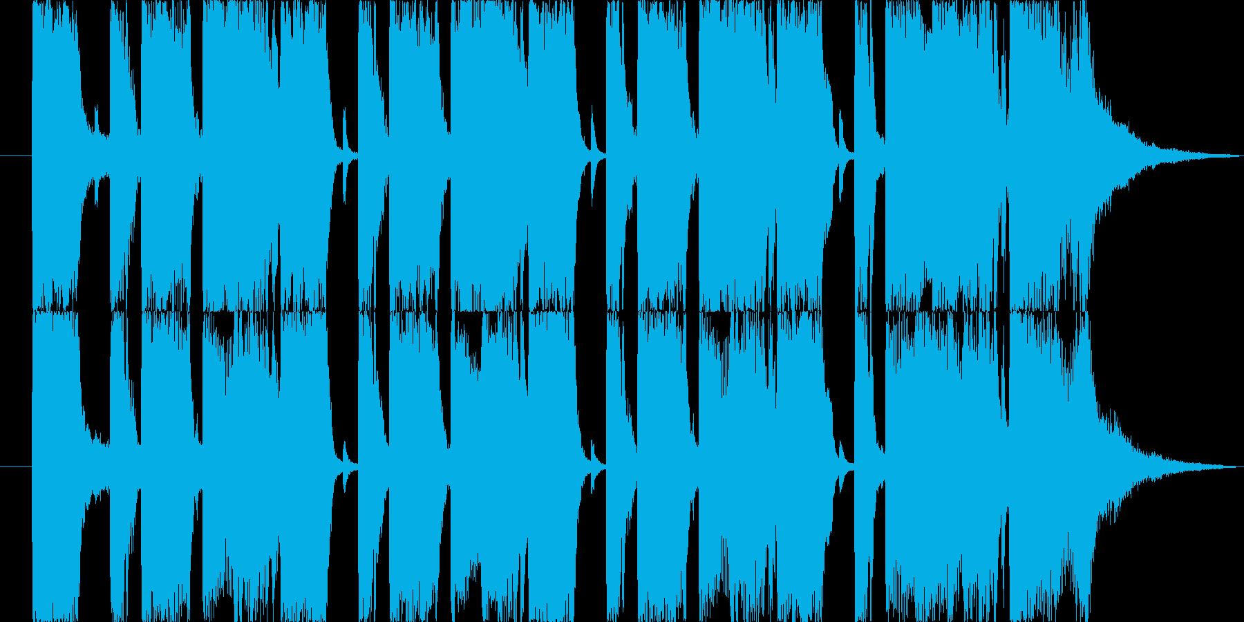 【ロック調出ばやし1】お笑いライブの再生済みの波形