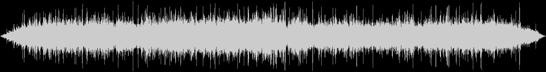 ジュゥゥゥ…+パチパチ… (長め、焼く)の未再生の波形