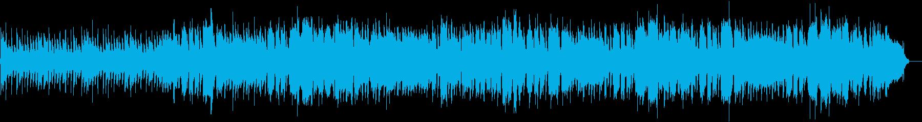 ポップで楽しいサウンドの再生済みの波形