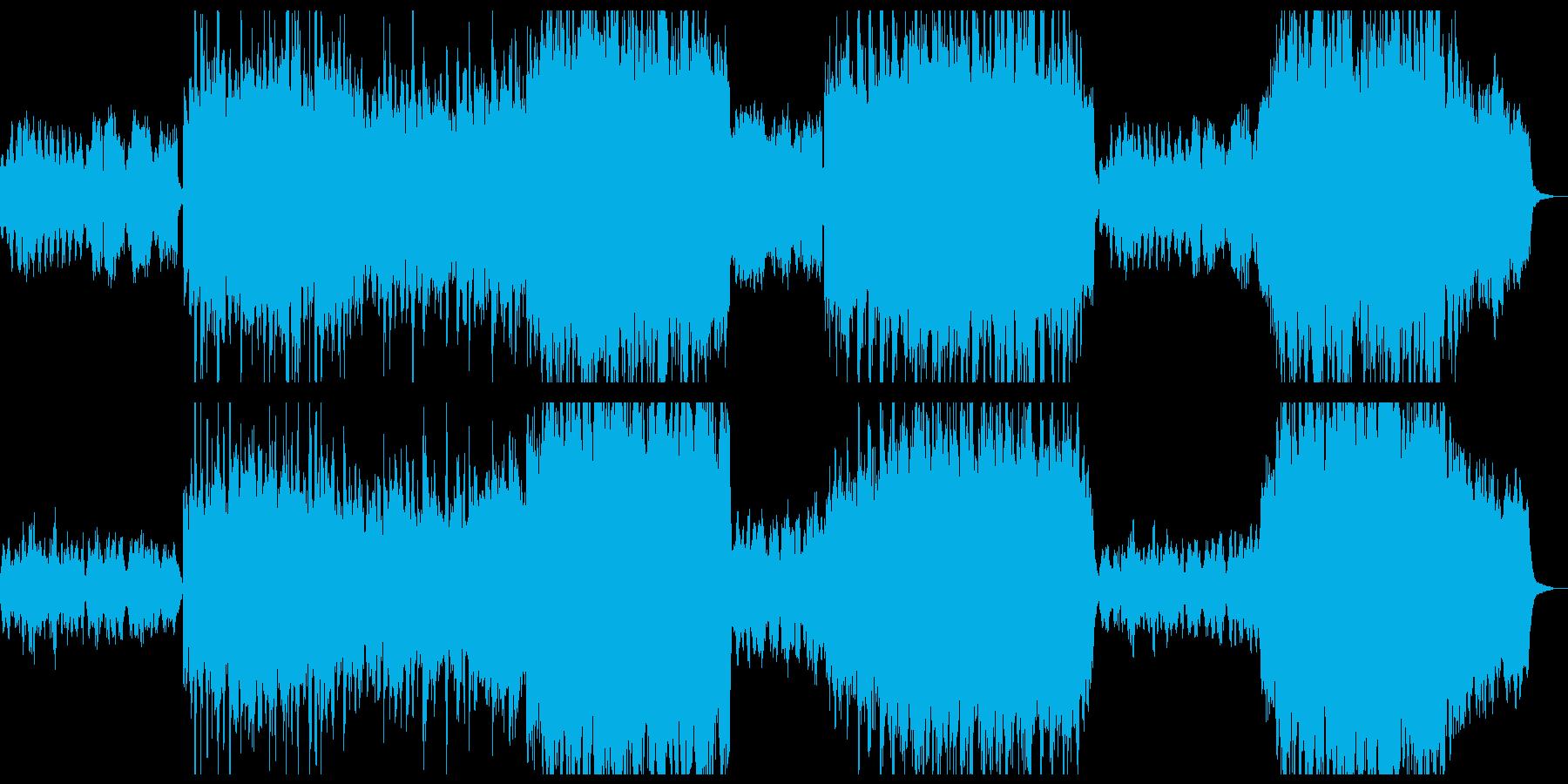 美しい感動BGM/映画主題歌/感謝BGMの再生済みの波形