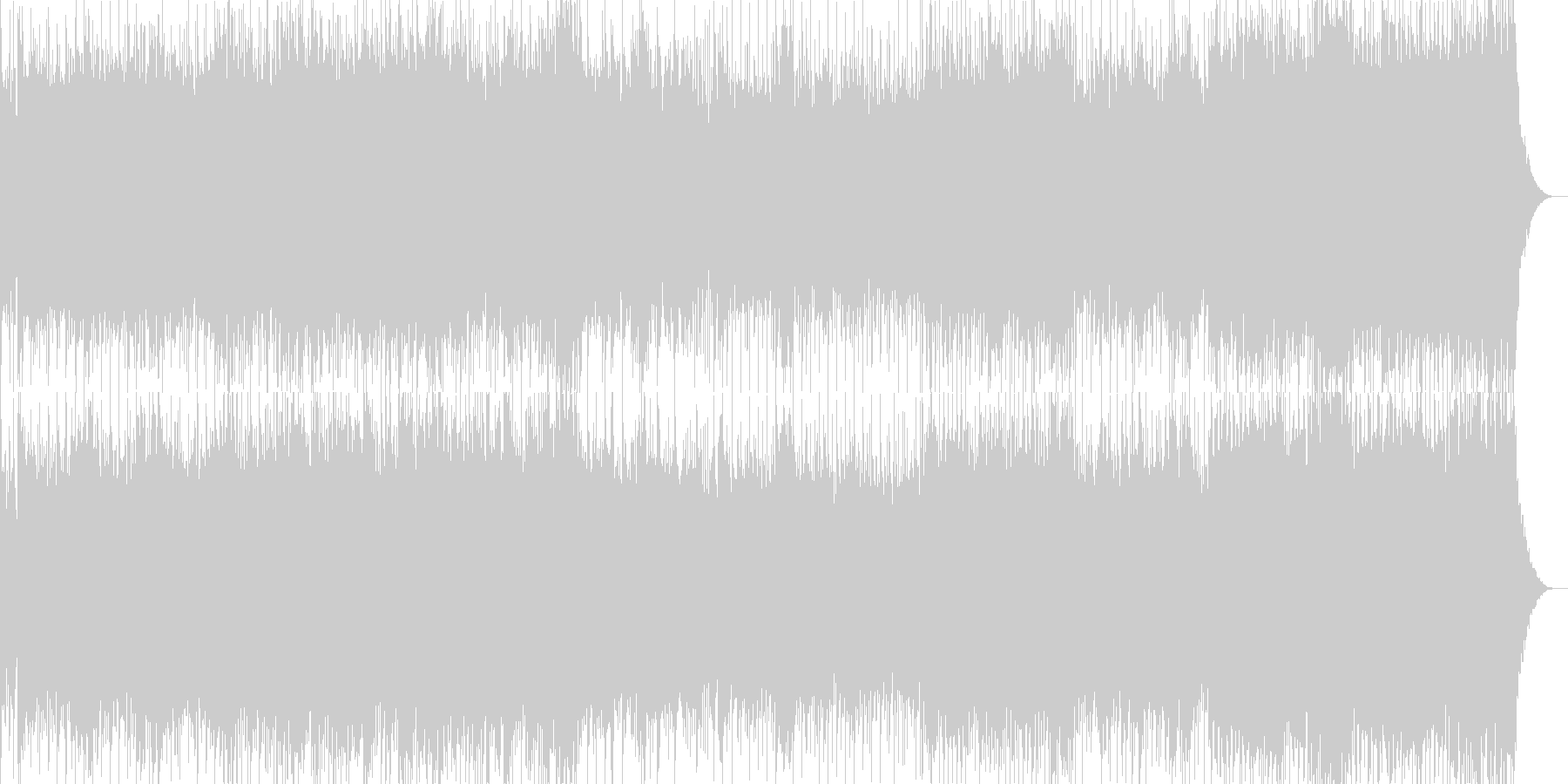 アップテンポのハードな曲です。バトルシ…の未再生の波形