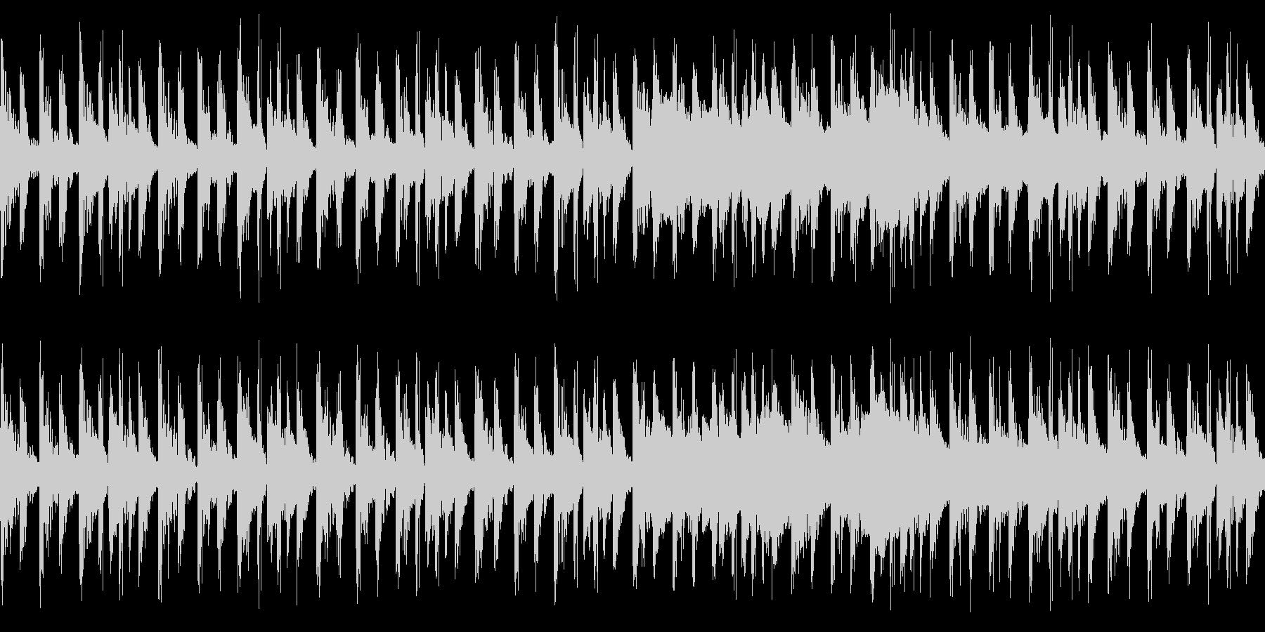 キャラ選択、システム画面など(ループ)2の未再生の波形