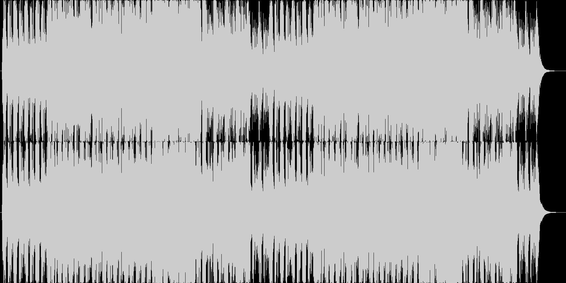 ファンタジG ステータス画面、城 B20の未再生の波形