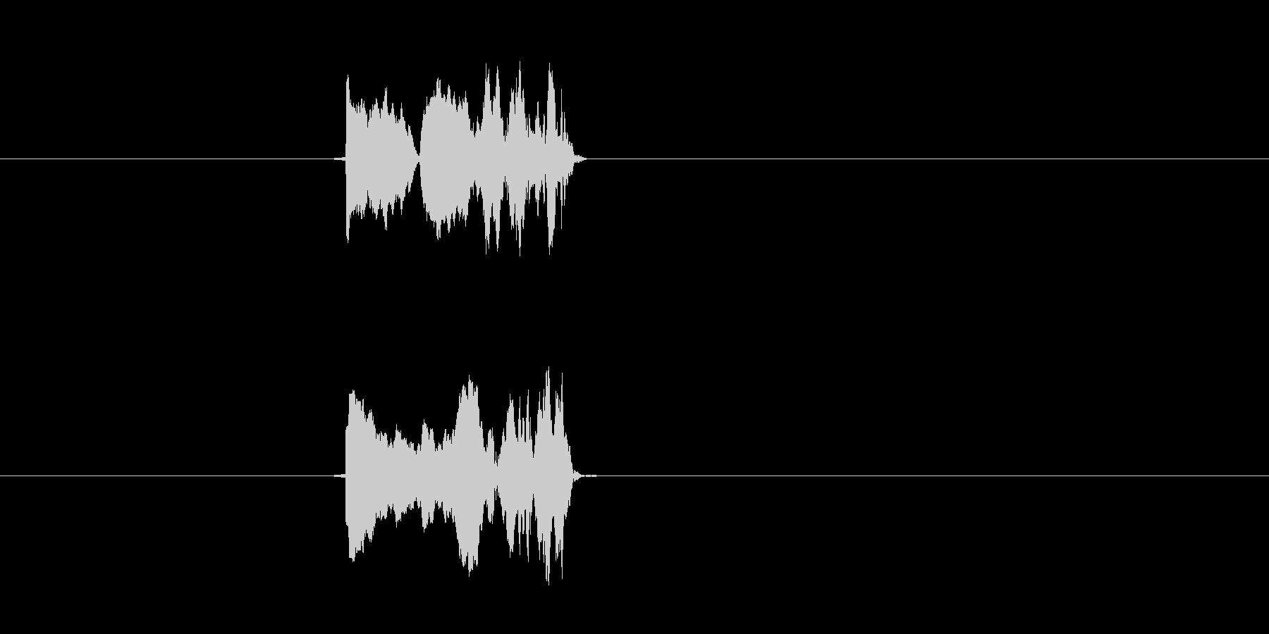ポヨン(コミカル、ゲーム、飛ぶ)の未再生の波形
