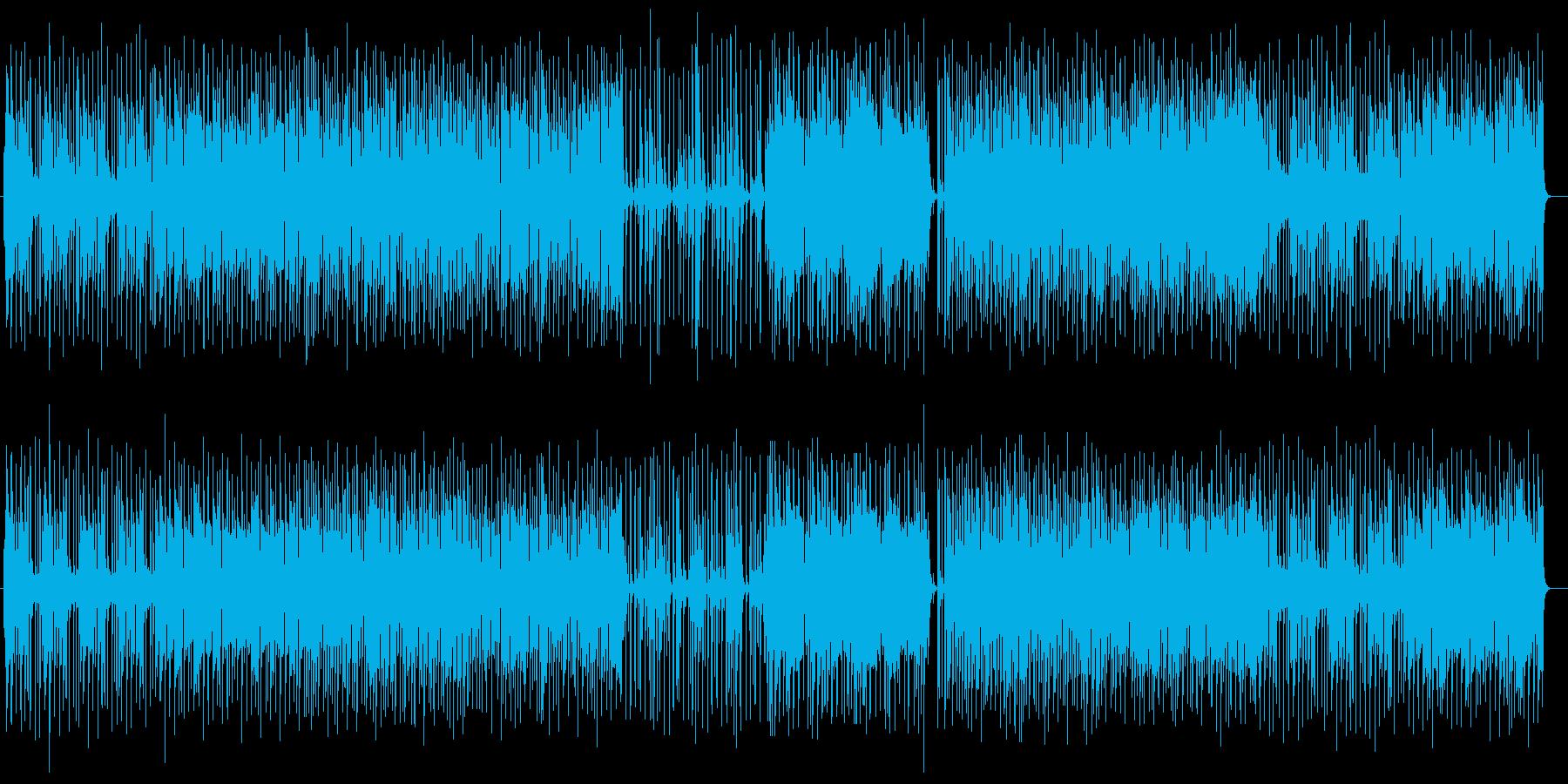 ムーディーでリズミカルなアコギサウンドの再生済みの波形