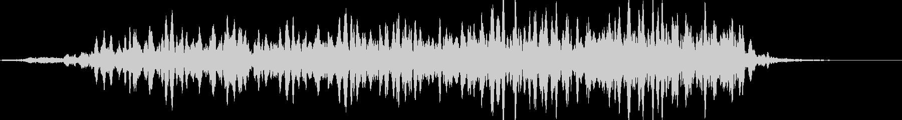 加速イメージモーター音(エレベーター風)の未再生の波形