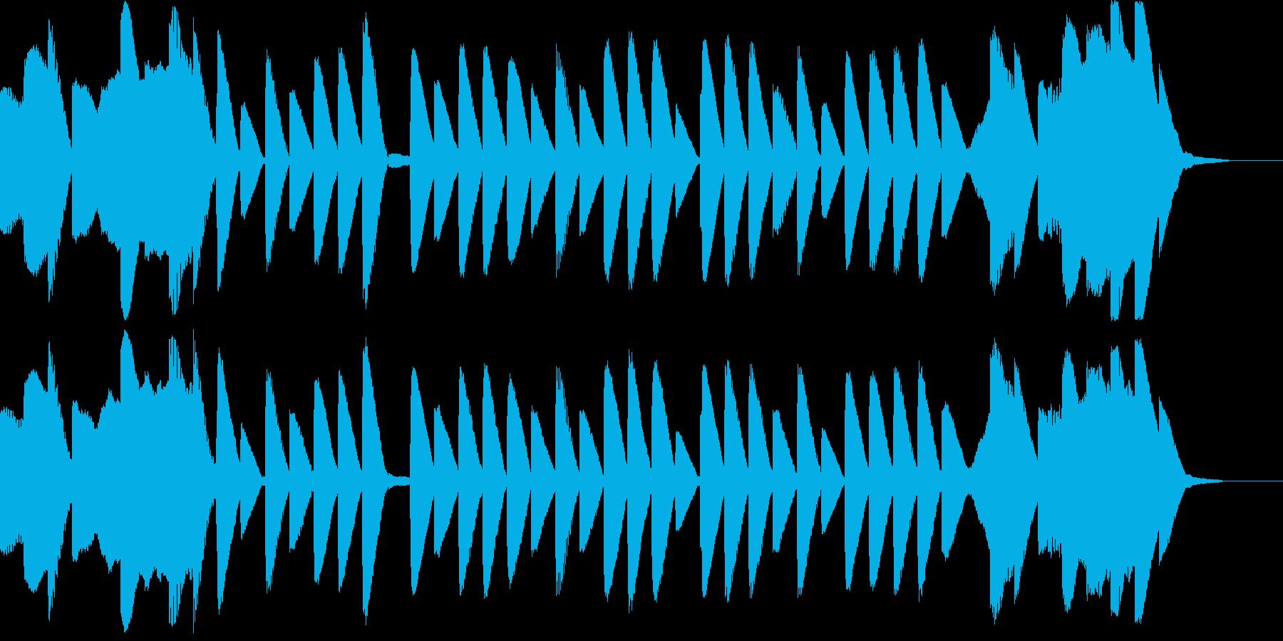 ゲームのようなバラードの再生済みの波形