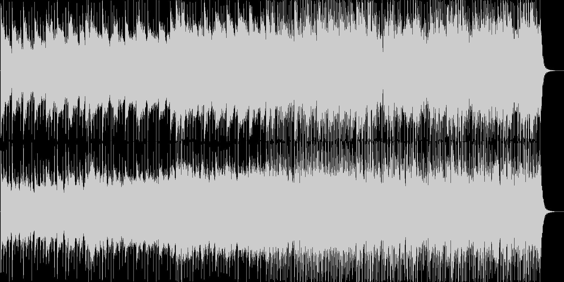 Life系のびやかなバンドサウンドの未再生の波形