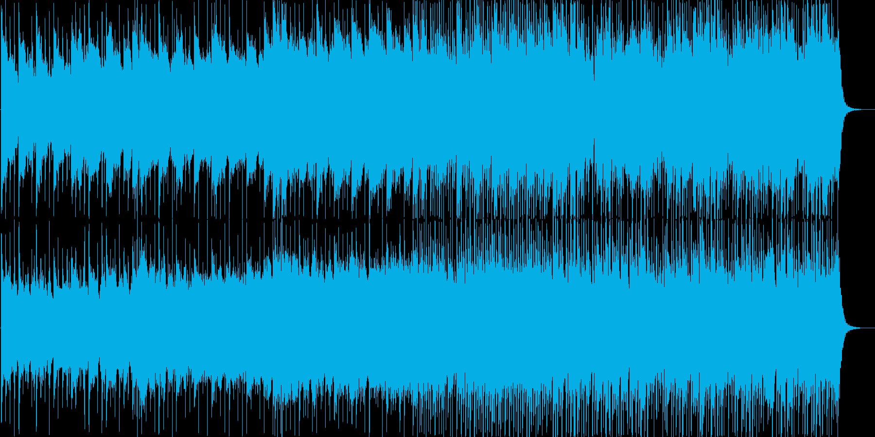 Life系のびやかなバンドサウンドの再生済みの波形