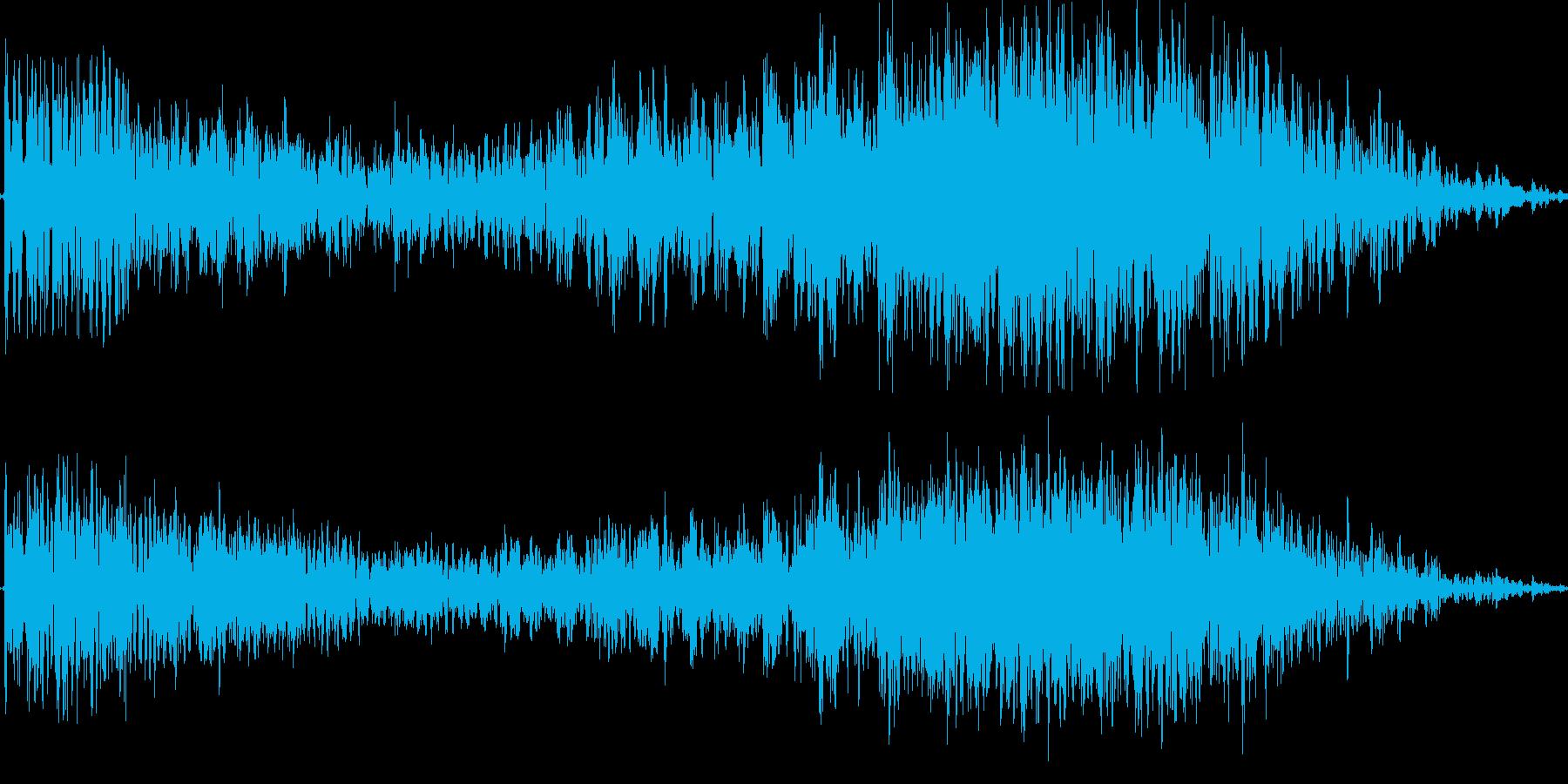 ヒュードロドロの再生済みの波形