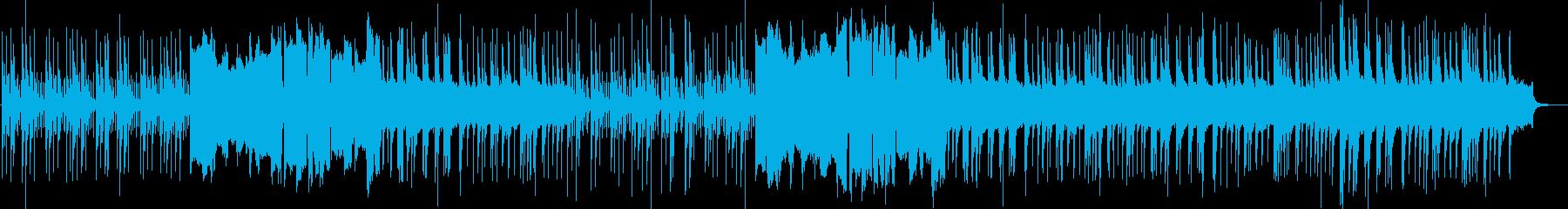 スローテンポな琴と篳篥による幻想的な曲の再生済みの波形