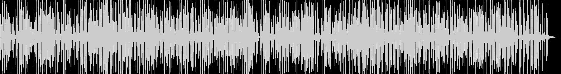 ほのぼのとしたリズムのピアノ楽曲の未再生の波形
