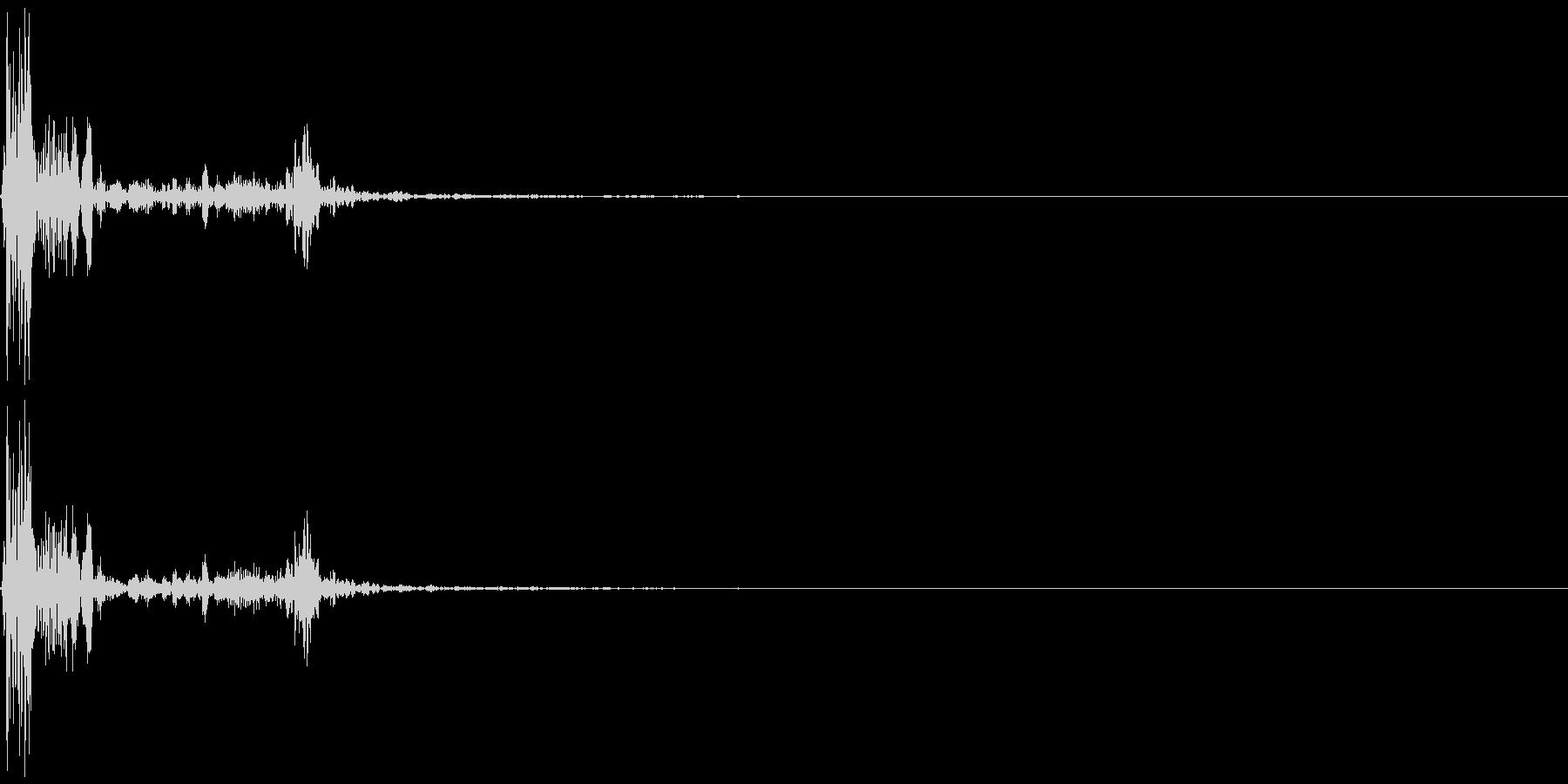 ゲームの効果音 カウッの未再生の波形