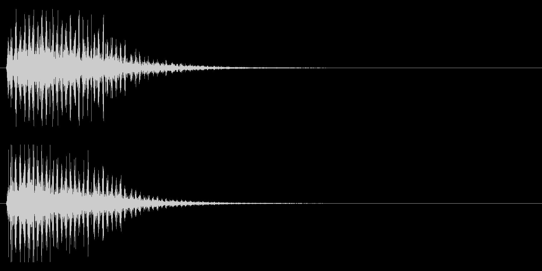 グワーン(粗め)の未再生の波形