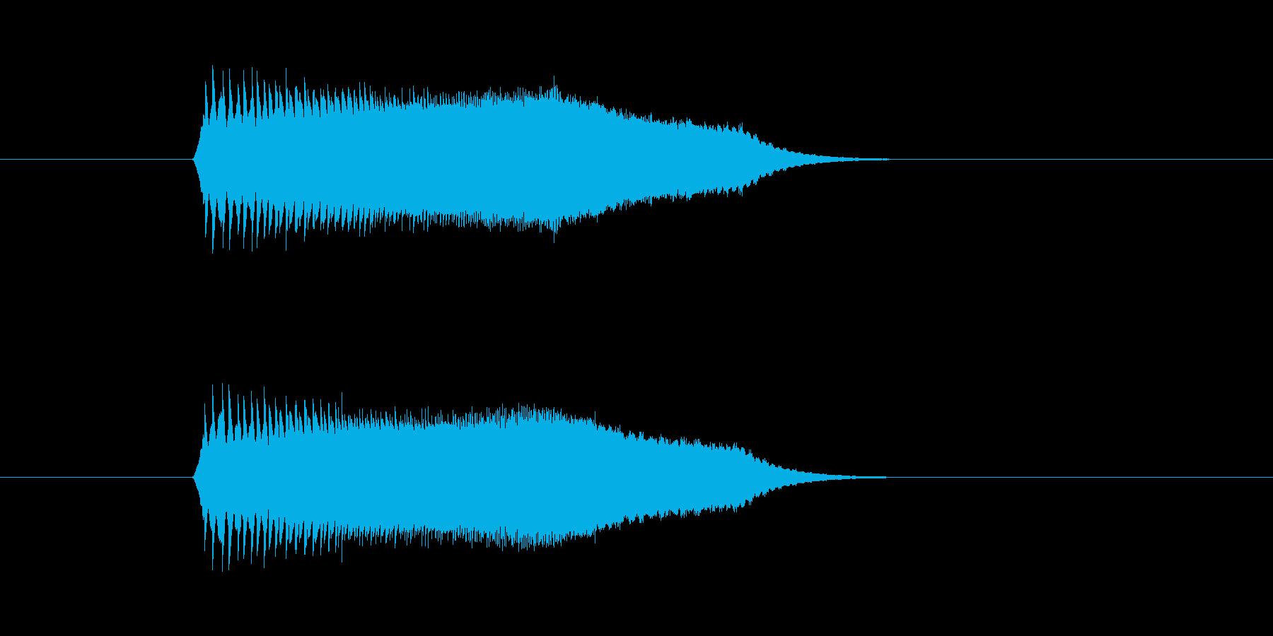 チューイン(宇宙、飛ぶ、回転)の再生済みの波形