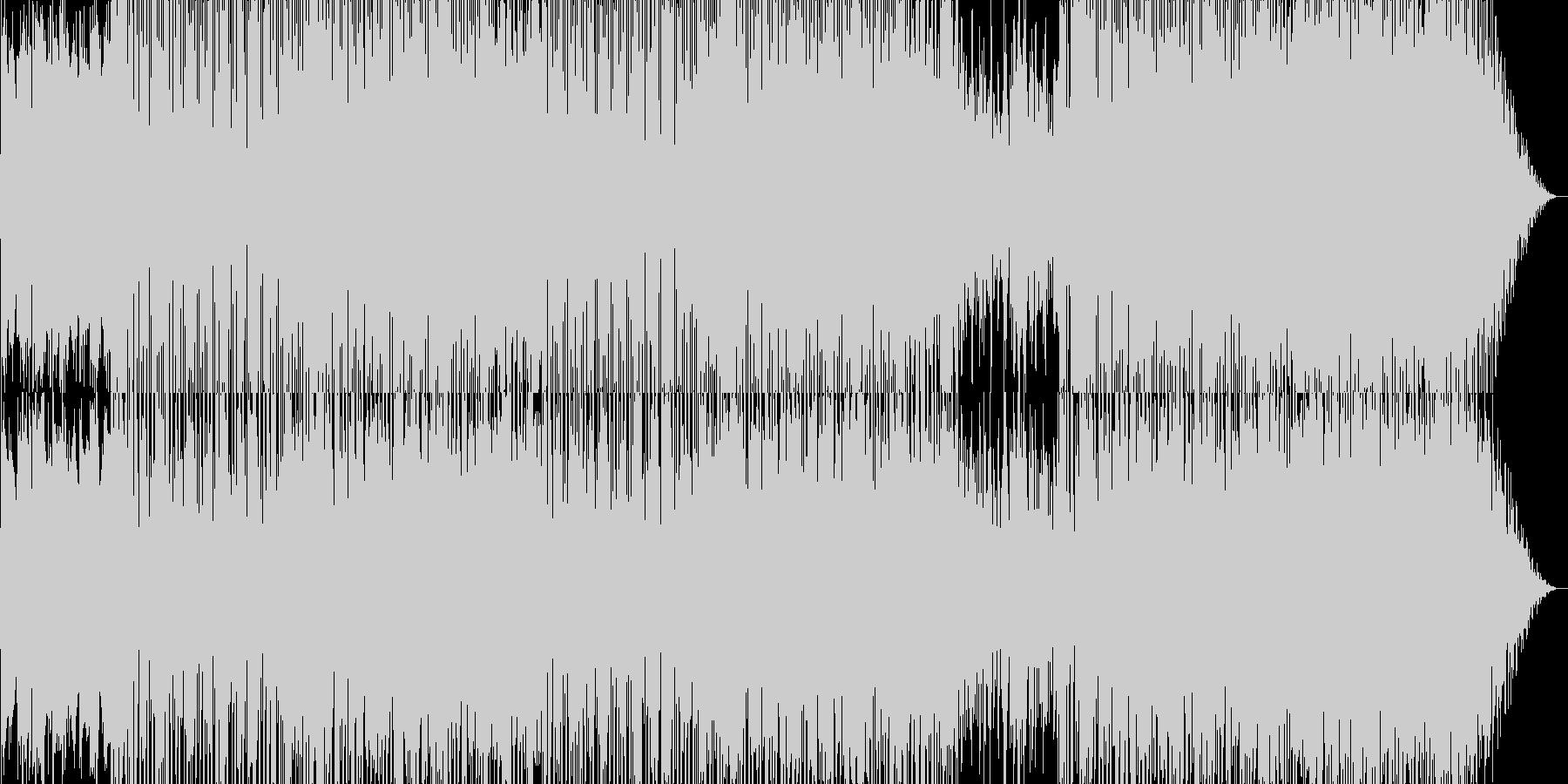 おしゃれな雰囲気なR&Bポップの未再生の波形