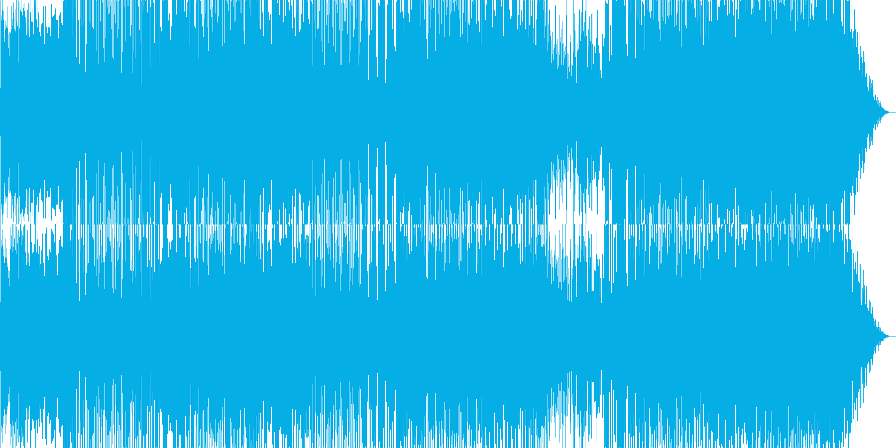 おしゃれな雰囲気なR&Bポップの再生済みの波形