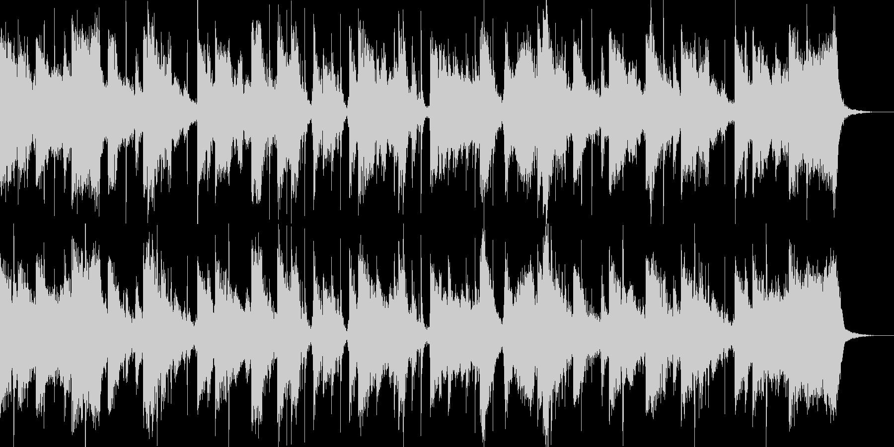 シネマティックパーカッションのトレーラーの未再生の波形