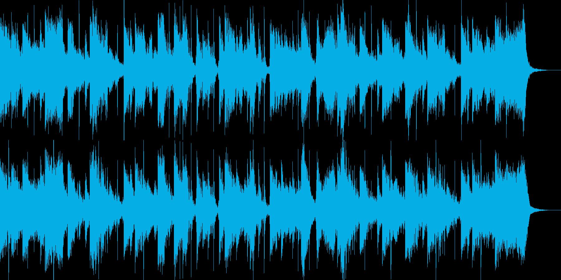 シネマティックパーカッションのトレーラーの再生済みの波形