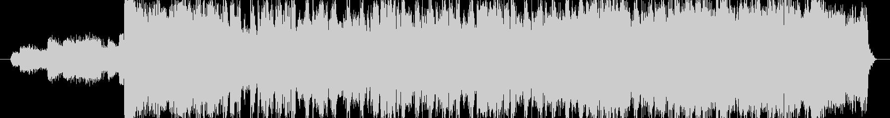 ハロウィンの雰囲気のEDMジングルの未再生の波形