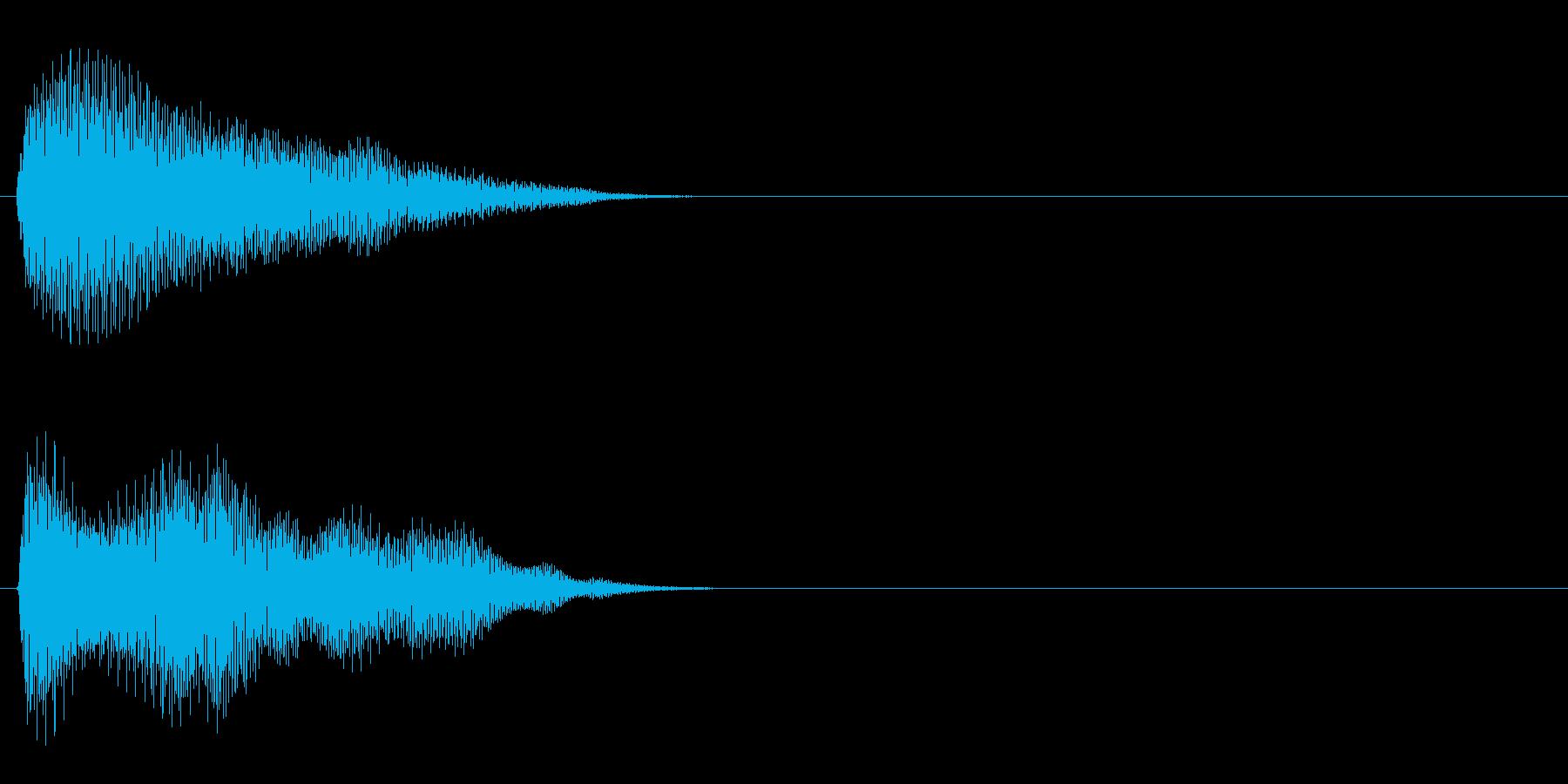 汎用 エレピ系09(長) タッチ音の再生済みの波形